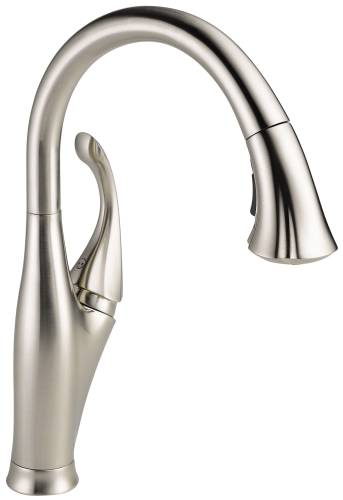 DELTA ADDISON SINGLE HANDLE PULL-DOWN KITCHEN FAUCET, STAINLESS