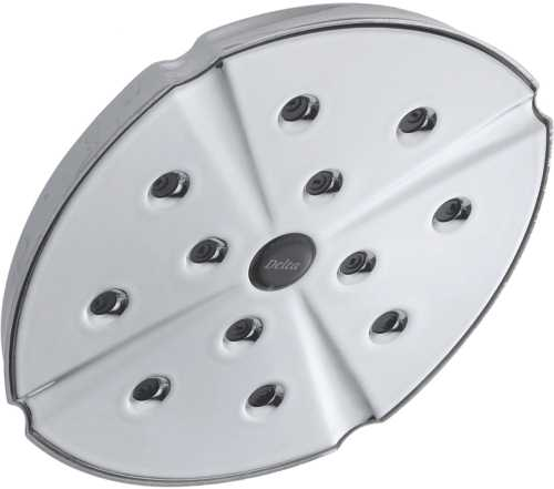 DELTA ADDISON RAINCAN SHOWER HEAD, CHROME