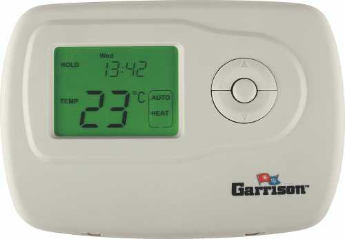 GARRISON DIGITAL THERMOSTAT, 2 STAGE HEAT/COOL PROGRAMMABLE