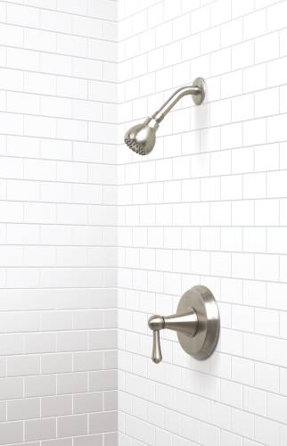 SONOMA SHOWER FAUCET BRUSHED NICKEL FINISH