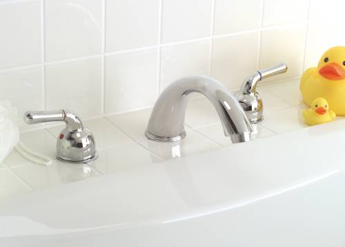 SANIBEL ROMAN TUB FAUCET CHROME