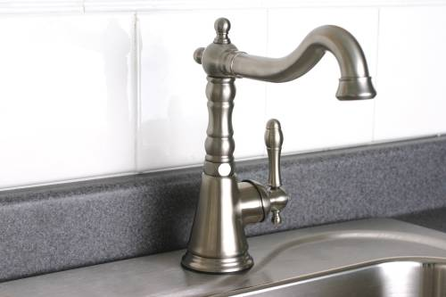 CHARLESTON BAR FAUCET SINGLE HANDLE LEAD FREE CHROME