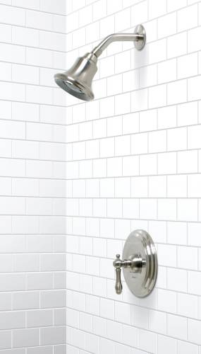 CHARLESTOWN SHOWER FAUCET BRUSHED NICKEL FINISH