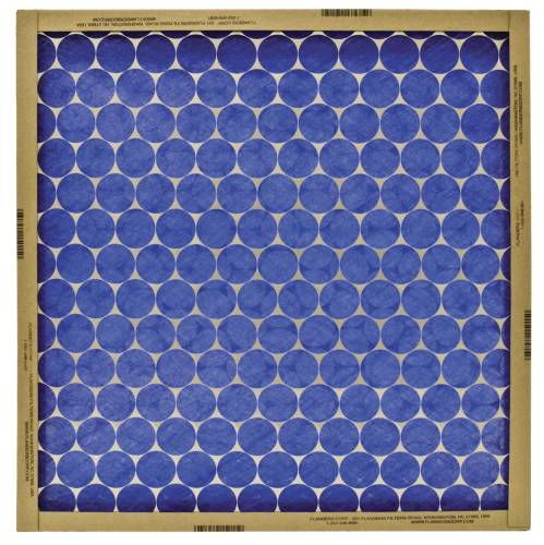 AIR FILTER FLAT PANEL HEAVY DUTY GLASS 20 IN. X 20 IN. X 1 IN.