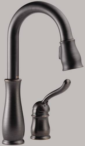 DELTA LELAND SINGLE HANDLE BAR/PREP FAUCET