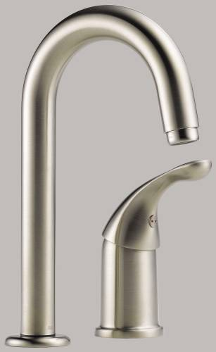 DELTA CLASSIC SINGLE HANDLE BAR/PREP FAUCET
