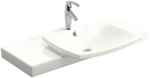 ESCALE VANITY TOP AND BASIN WHITE 29-3/4 IN. X 20-5/16 IN.