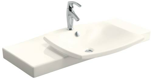 ESCALE VANITY TOP AND BASIN BISCUIT 29-3/4 IN. X 20-5/16 IN.