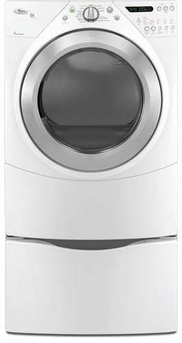 WHIRLPOOL DUET HIGH EFFICIENCY ELECTRIC DRYER WITH ECO NORMAL CY