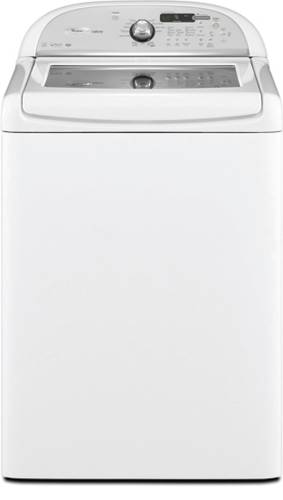 WHIRLPOOL CABRIO® TOP LOAD WASHER WITH SEE-THROUGH TEMPERED GLAS