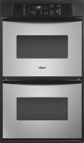 WHIRLPOOL DOUBLE WALL OVEN 24 IN. STAINLESS STEEL
