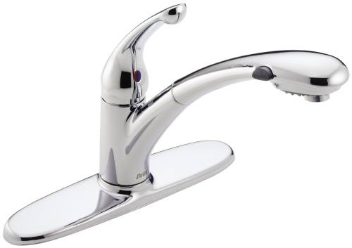 DELTA SIGNATURE KITCHEN FAUCET WITH PULL OUT