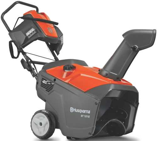 208CC SINGLE STAGE SNOW THROWER 21 IN. CLEARING