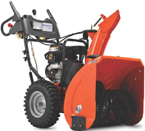208CC TWO STAGE SNOW THROWER 24 IN. CLEARING