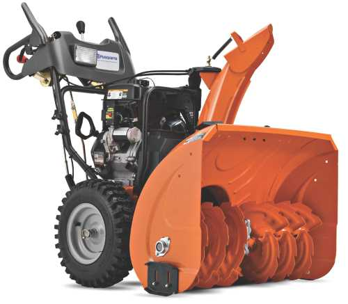414CC TWO STAGE SNOW THROWER 30 IN. CLEARING