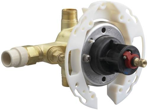 KOHLER RITE-TEMP® VALVE WITH STOPS, CPVC INLETS