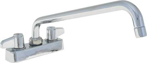EQUIP BY T&S BRASS 4 IN. CENTERSET DECK MOUNT FAUCET