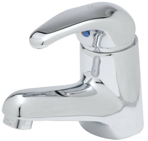 T & S SINGLE LEVER FAUCET CHROME