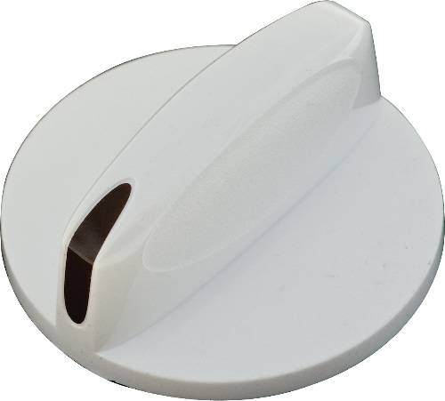 KNOB, THERMOSTAT, WHITE