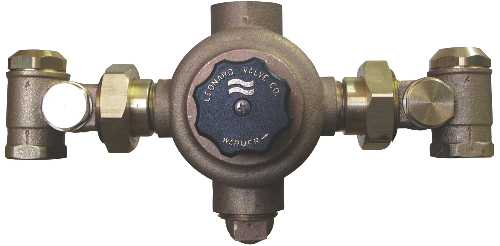 THERMOSTATIC MIXING VALVE SINGLE MASTER MIXING VALVE LEAD FREE