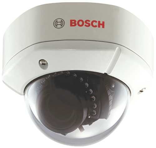 BOSCH OUTDOOR DAY/NIGHT IR DOME CAMERA