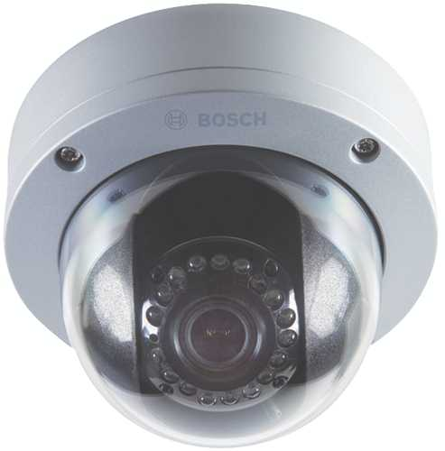 BOSCH OUTDOOR DAY/NIGHT IR MINIDOME CAMERA