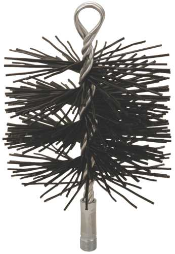 CHIMNEY BRUSH, 4 IN. ROUND, 3/8 IN. NPSM, POLYSWEEP