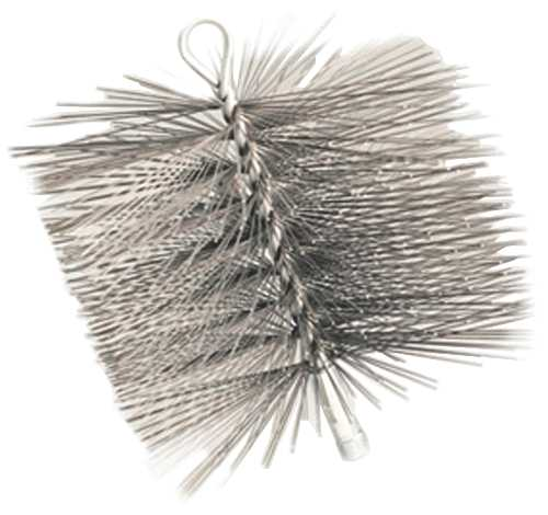 CHIMNEY BRUSH, 10 IN. X 10 IN. SQUARE, 1/4 IN. NPT, PREMIUM WIRE