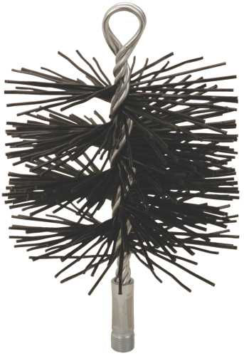 CHIMNEY BRUSH, 3 IN. ROUND, 3/8 IN. NPSM, POLYSWEEP