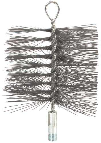 CHIMNEY BRUSH, 11 IN. X 11 IN. SQUARE, 3/8 IN. NPSM, SUPERSWEEP