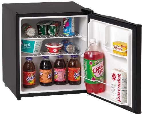 CUBE REFRIGERATOR WITH REVERSIBLE DOOR AND ENERGY STAR RATED, 1.