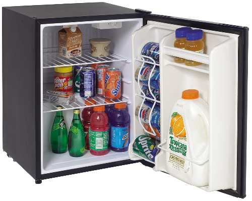 CUBE REFRIGERATOR WITH REVERSIBLE DOOR AND ENERGY STAR RATED, 2.