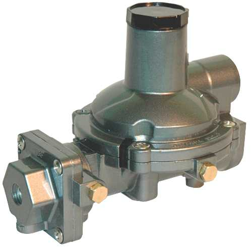 CAVAGNA NORTH AMERICA TWIN STAGE REGULATOR, 1/4 IN. FNPT INLET X