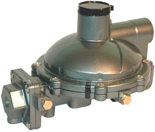 CAVAGNA NORTH AMERICA TWIN STAGE REGULATOR, F.POL INLET X 3/4 IN
