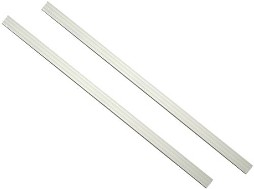 MIRREDGE STRIPS DOVE WHITE 36 IN., 2 PACK