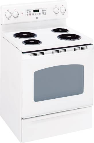 GE RANGE ELECTRIC FREE STANDING 30 IN. BISQUE