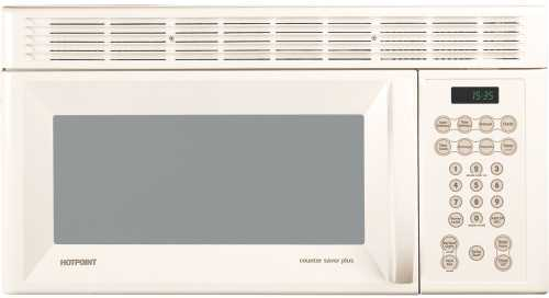 GE MICROWAVE OVEN OVER-THE-RANGE 1.4 CU. FT. BISQUE