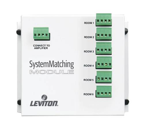 LEVITON SYSTEM MATCHING MODULE (FOR USE WITH NON-IMPEDANCE MATCH