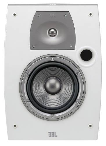 LEVITON OUTDOOR AND ALL WEATHER TWO-WAY LOUDSPEAKER, WHITE