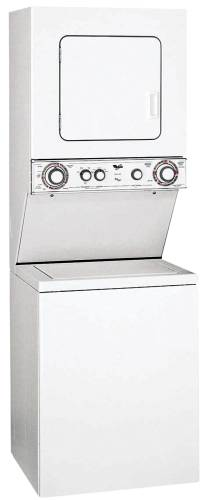 WHIRLPOOL STACK WASHER WITH GAS THIN TWIN® DRYER - MODEL LTG5243