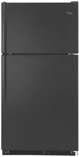 18.4 CU. FT. TOP-FREEZER REFRIGERATOR - BLACK