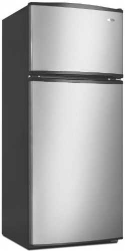 AMANA 17.6 CU. FT TOP-FREEZER REFRIGERATOR, SILVER