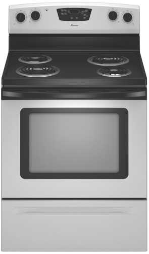 "AMANA 30"" FREESTANDING ELECTRIC RANGE WITH 4 COIL ELEMENTS, UNIV"