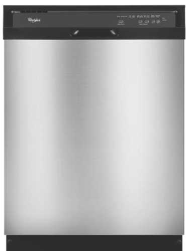 AMANA BUILT-IN TALL TUB DISHWASHER, UNIVERSAL SILVER