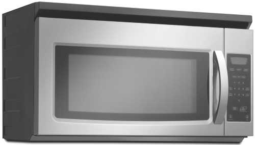 AMANA 1.5 CU. FT OVER-THE-RANGE- MICROWAVE OVEN, UNIVERSAL SILVE