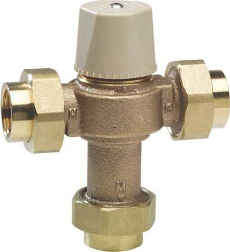 CHICAGO FAUCETS ECAST® THERMOSTATIC MIXING VALVE WITH CHECK VALV