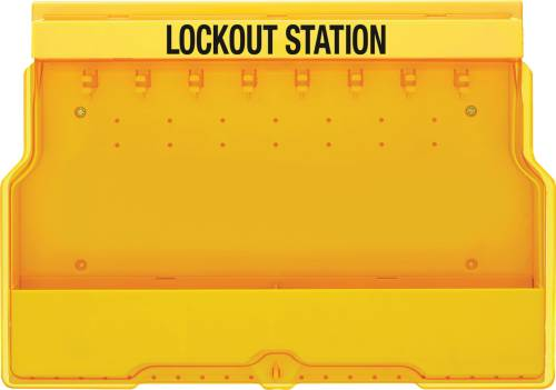 MASTER LOCK LOCKOUT STATION, UNFILLED