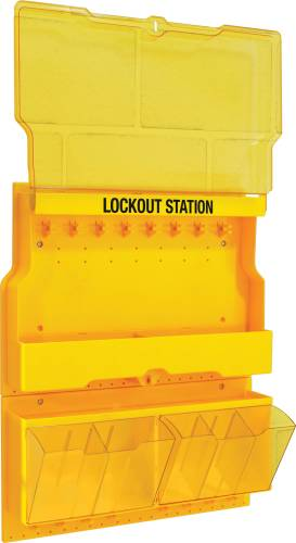 MASTER LOCK DELUXE LOCKOUT STATION, UNFILLED