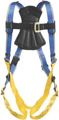 BLUE ARMOR 1000 H212004 STANDARD 1 D RING HARNESS, XL
