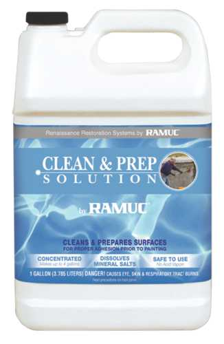 RAMUC CLEAN AND PREP SOLUTION FOR POOLS AND DECKS